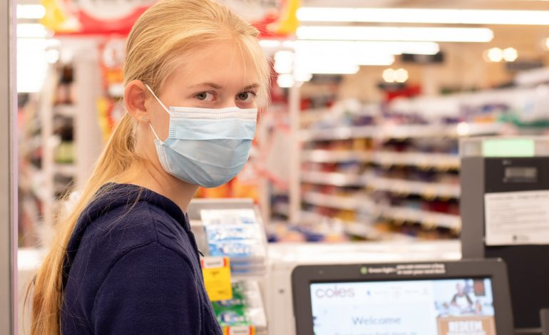 Face masks in shopping centres are compulsory in Greater Sydney NSW.