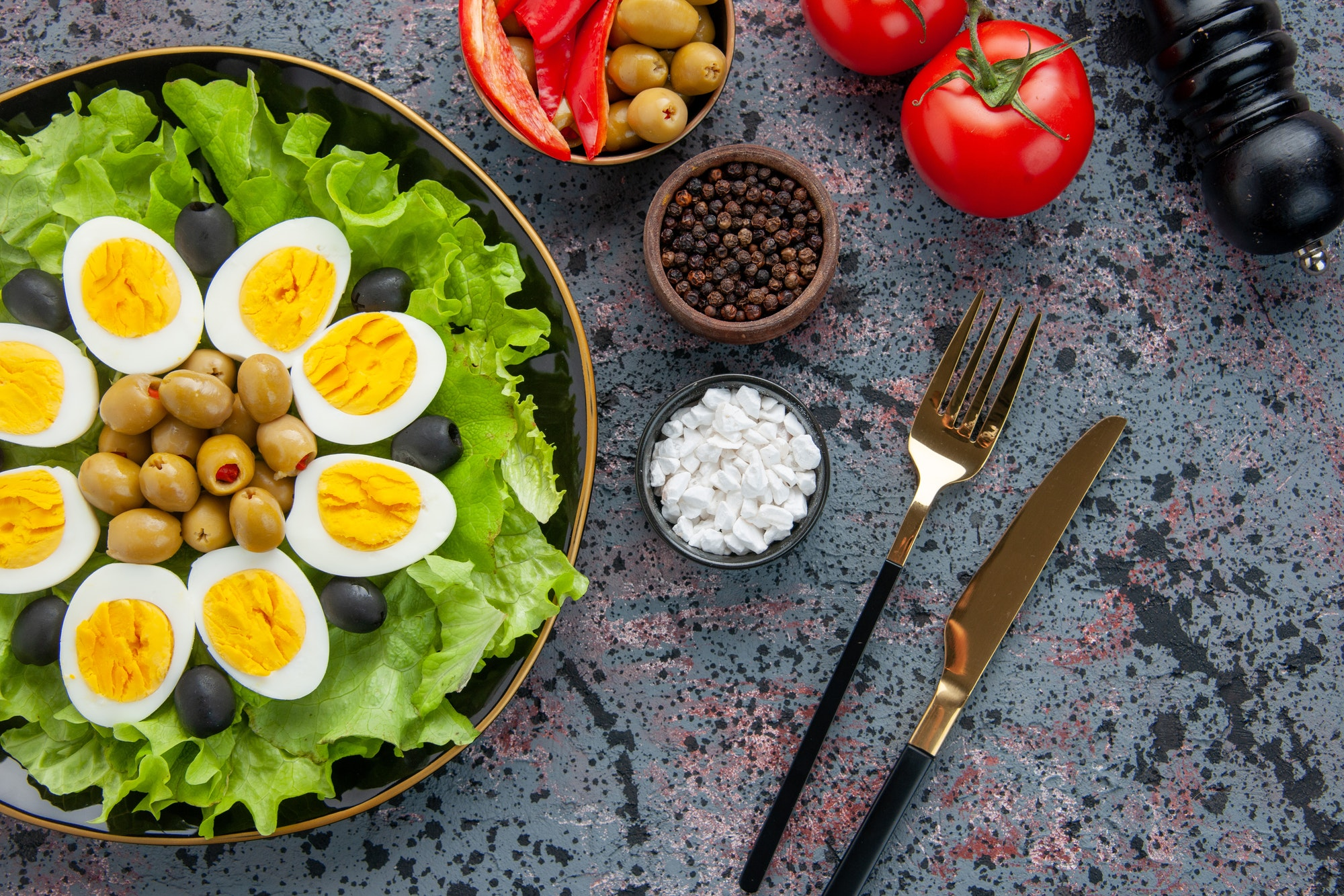 High cholesterol: Eggs do not raise cholesterol levels as much as saturated fats do